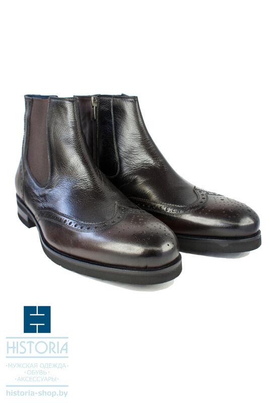 Обувь мужская HISTORIA Ботинки мужские, челси, коричневые - фото 1
