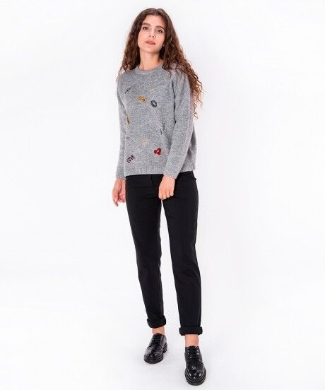 Кофта, блузка, футболка женская SAVAGE Джемпер женский арт. 910722 - фото 3
