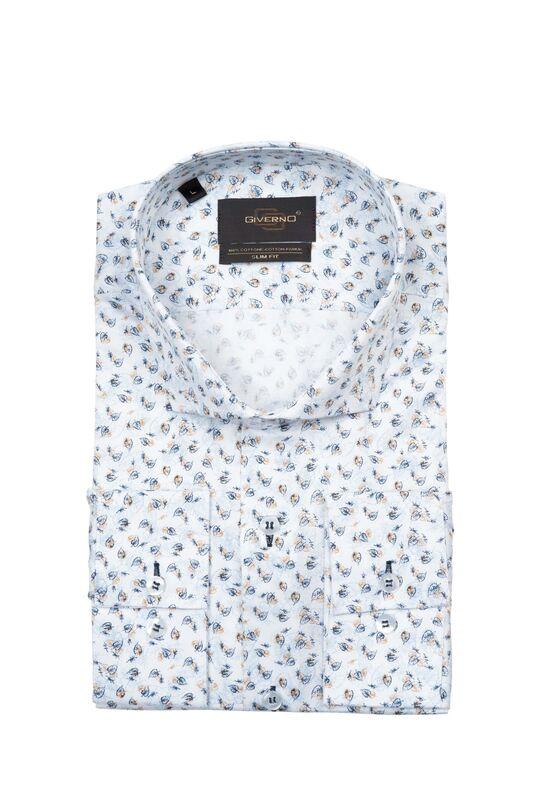 Кофта, рубашка, футболка мужская GIVERNO Сорочка верхняя мужская GS85 - фото 1