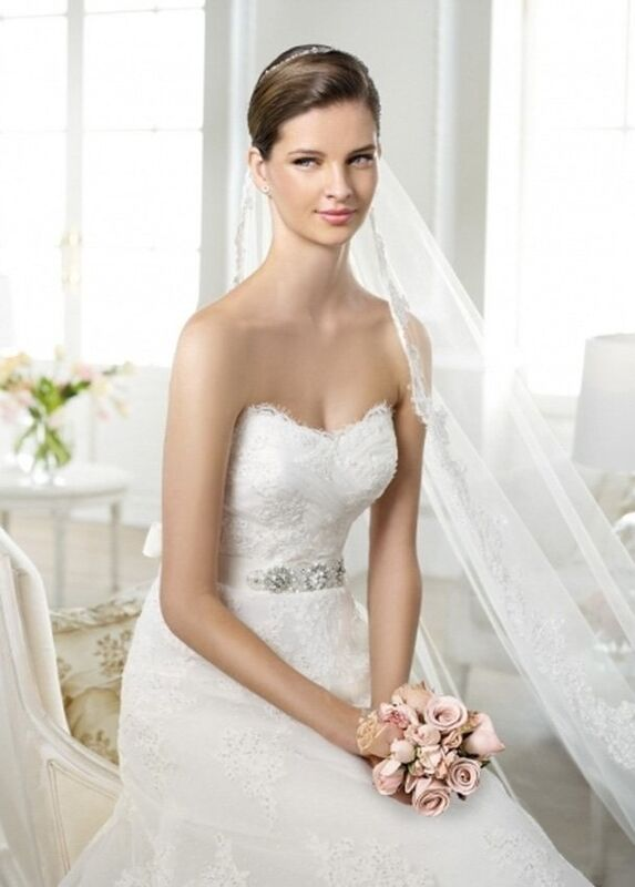 Свадебное платье напрокат White One (Pronovias) Платье свадебное «Jakobe» - фото 3