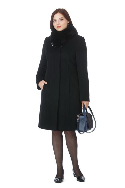 Верхняя одежда женская Elema Пальто женское зимнее Т-7363 - фото 1