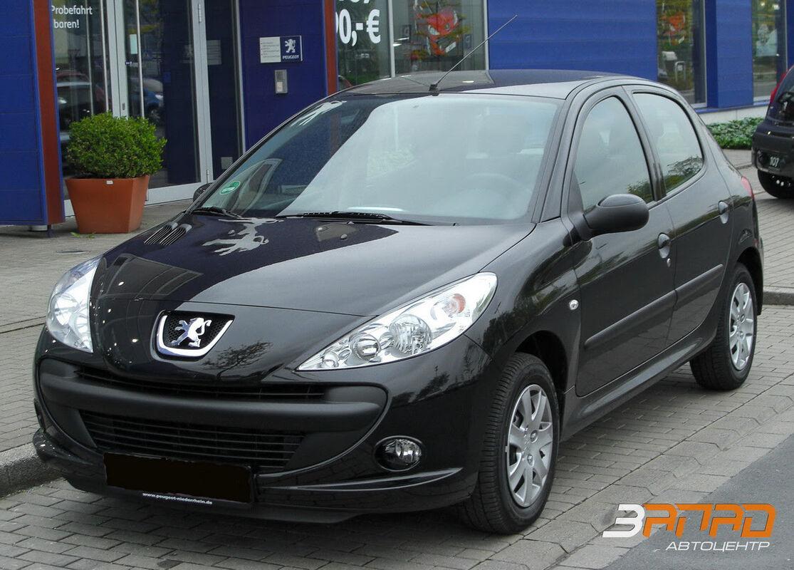 Аренда авто Peugeot 206 2010 - фото 1