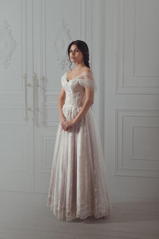 Свадебное платье напрокат Артемида Платье свадебное Consuelo - фото 5