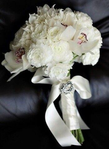 Магазин цветов Ветка сакуры Свадебный букет № 6 - фото 1