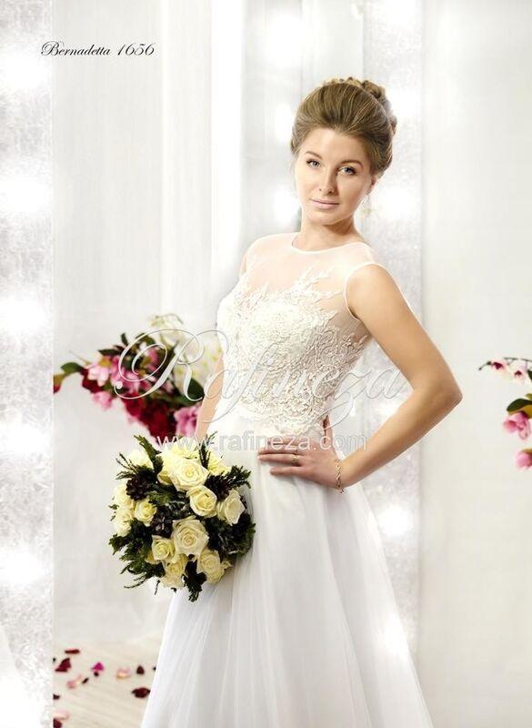 Свадебное платье напрокат Rafineza Свадебное платье Bernadetta - фото 1