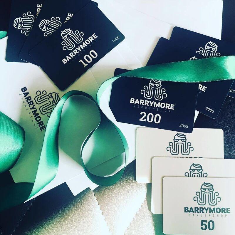 Магазин подарочных сертификатов BARRYMORE Подарочный сертификат - фото 1