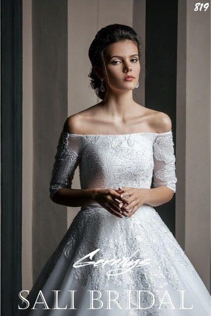 Свадебный салон Sali Bridal Свадебное платье 819 - фото 2
