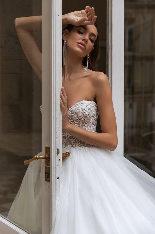 """Свадебное платье напрокат ALIZA свадебное платье """"Ambrry"""" - фото 4"""