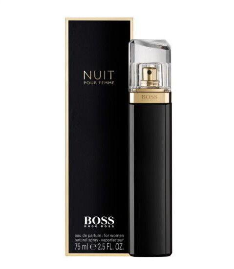 Парфюмерия Hugo Boss Парфюмированная вода Nuit Pour Femme, 75 мл - фото 1