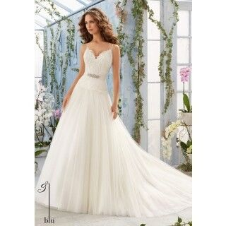 Свадебное платье напрокат Mori Lee Платье свадебное 5411 - фото 1