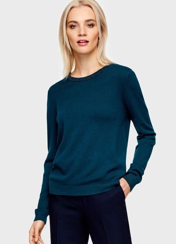 Кофта, блузка, футболка женская O'stin Джемпер с завязками LK6U11-47 - фото 1