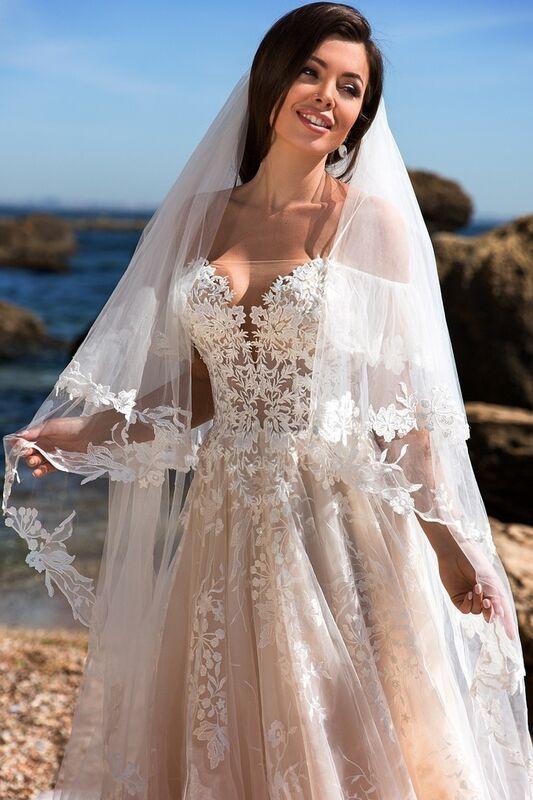 Свадебное платье напрокат Ida Torez Codakia Tigerina - фото 3