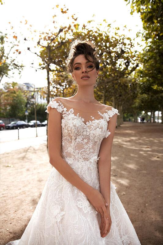 Свадебный салон Vanilla room Свадебное платье Джессика - фото 3