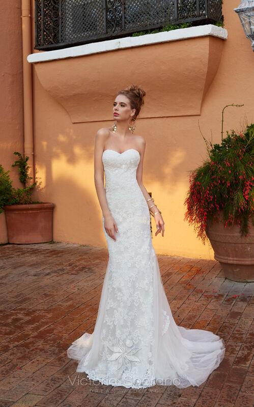 Свадебное платье напрокат City Bride Свадебное платье VS11618 - фото 1