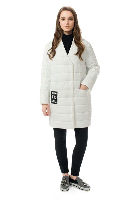 Верхняя одежда женская Elema Пальто женское плащевое утепленное Т-6722 - фото 1