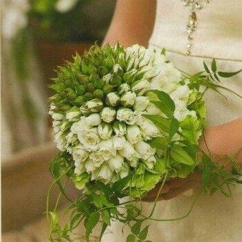 Магазин цветов Ветка сакуры Свадебный букет № 69 - фото 1