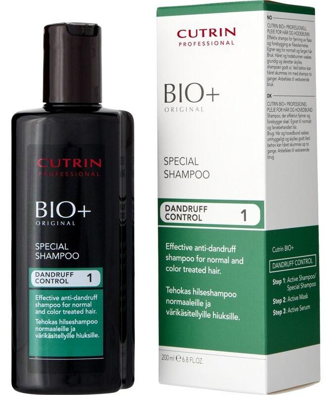 Уход за волосами Cutrin Специальный шампунь против перхоти Bio+ Special Shampoo - фото 1