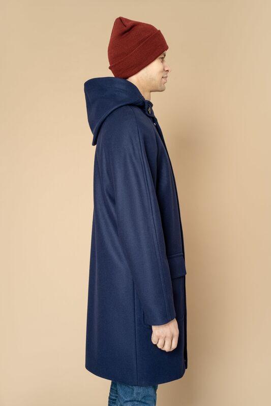 Верхняя одежда мужская Etelier Пальто мужское демисезонное 1М-8888-1 - фото 5