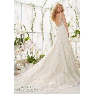 Свадебное платье напрокат Mori Lee Платье свадебное 2822 - фото 2