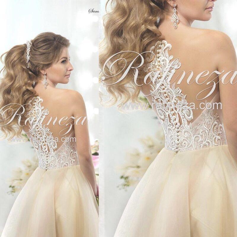 Свадебное платье напрокат Rafineza Платье свадебное Sandra - фото 2