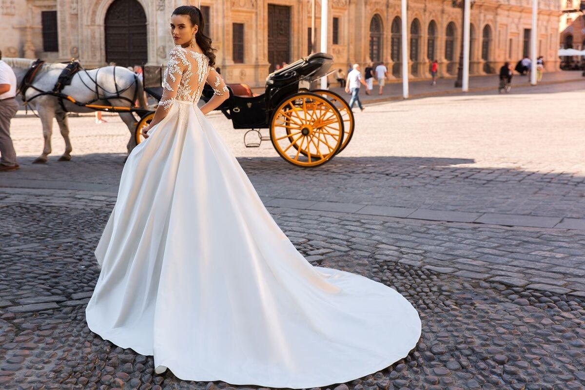 Свадебное платье напрокат Crystal Свадебное платье Jaimi - фото 3