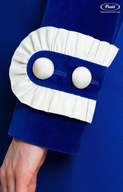 Костюм женский Pintel™ Элегантный комбинированный костюм Momö - фото 6