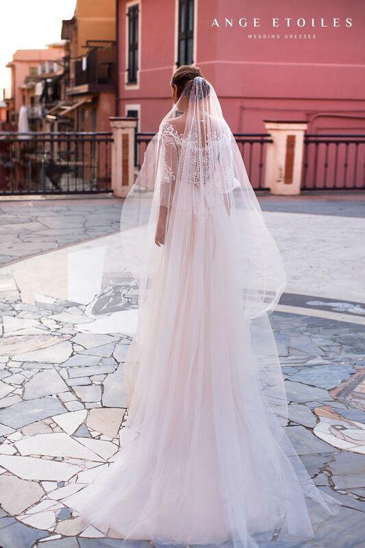 Свадебное платье напрокат Ange Etoiles Свадебное платье Ali Damore Katalina - фото 3