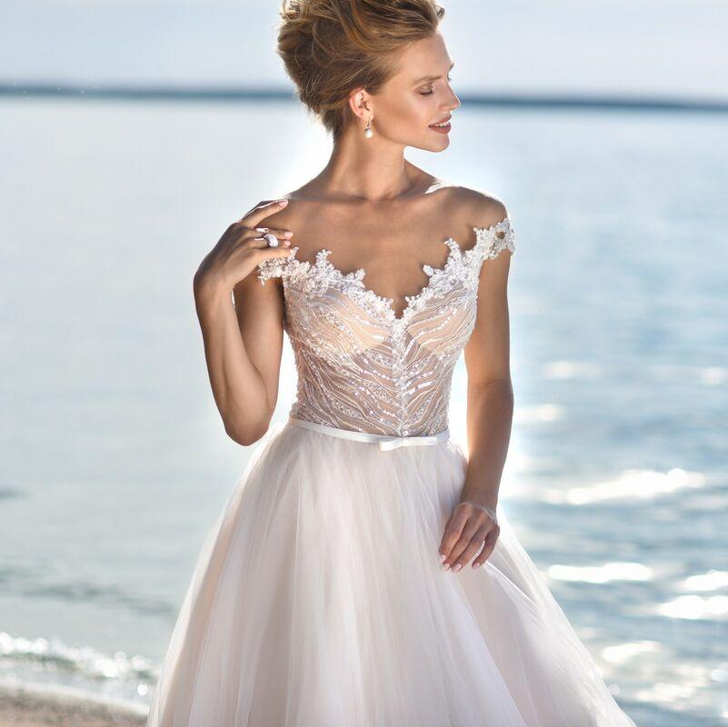 Свадебное платье напрокат Cosmobella Свадебное платье Kon-Tiki - фото 4