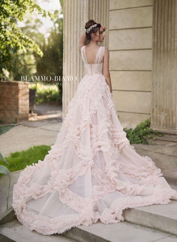 Свадебное платье напрокат Blammo-Biamo Платье свадебное The Rice  Noel - фото 5