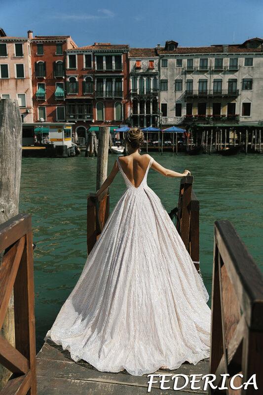 Свадебный салон Bonjour Galerie Свадебное платье Federica из коллекции La Douceur - фото 4