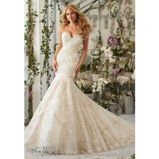 Свадебное платье напрокат Mori Lee Платье свадебное 2801 - фото 1