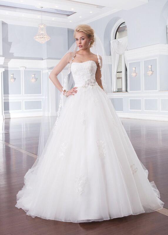 Свадебное платье напрокат Lillian West Платье свадебное «Ainsley» - фото 1