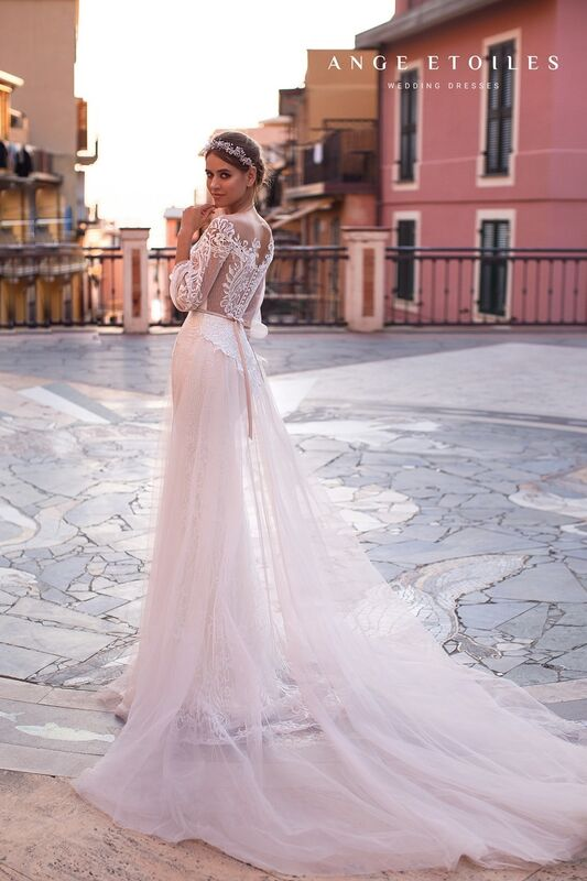 Свадебный салон Ange Etoiles Платье свадебное Ali Damore Katalina - фото 2