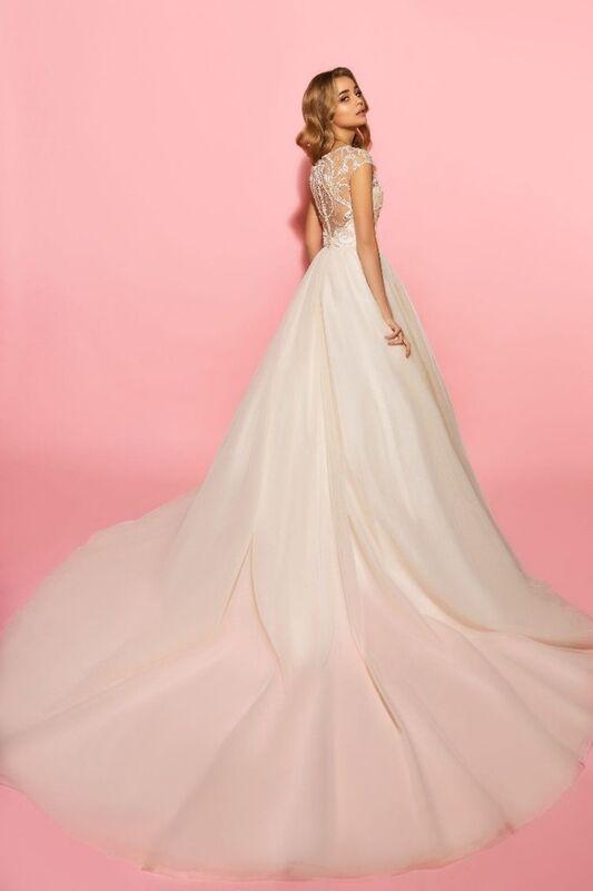 Свадебное платье напрокат Eva Lendel Платье свадебное Olivia - фото 2