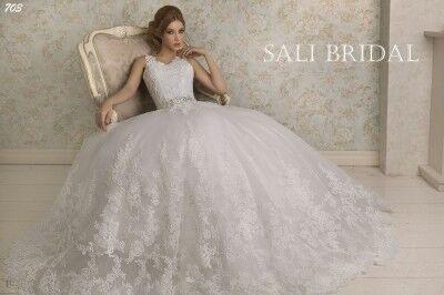 Свадебный салон Sali Bridal Свадебное платье 703 - фото 3