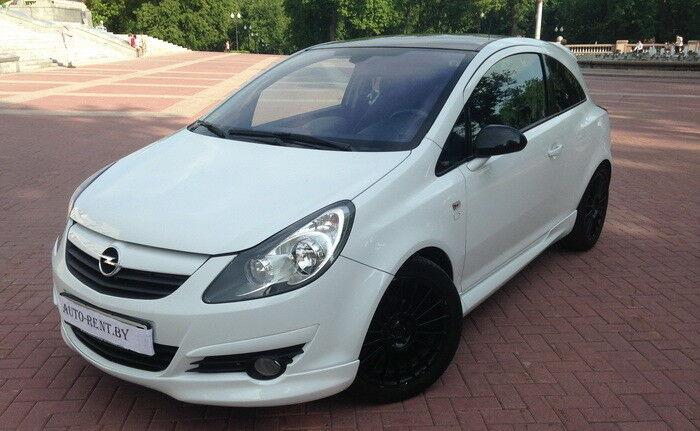 Аренда авто Opel Corsa White Limited Edition - фото 1