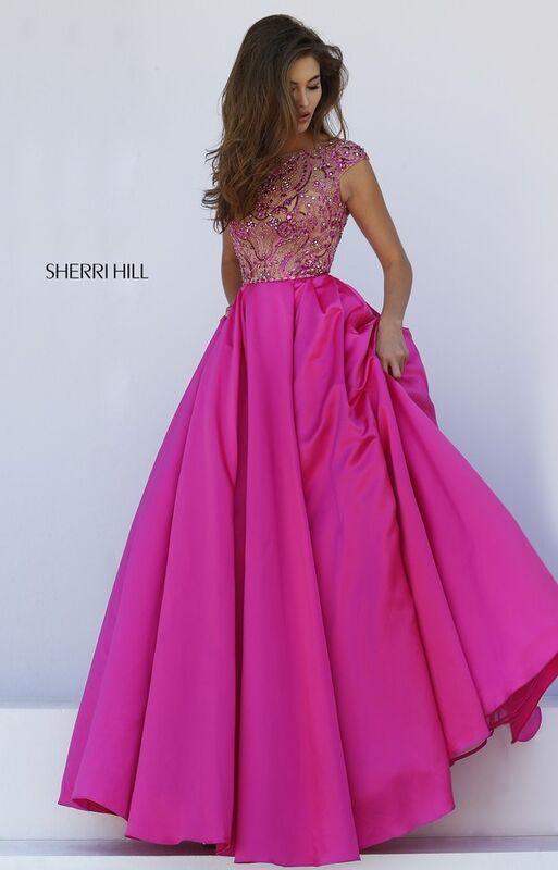 Свадебное платье напрокат Sherri Hill Свадебное платье 32359 - фото 3