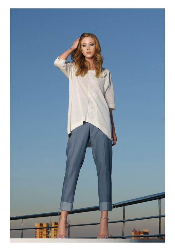Кофта, блузка, футболка женская Mozart Джемпер s19086 - фото 1