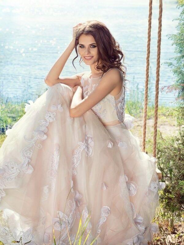 Свадебный салон Papilio Свадебное платье «Султанка» 1751L - фото 1