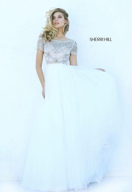 Свадебное платье напрокат Sherri Hill Платье свадебное 50710 - фото 1