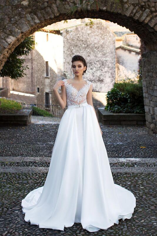 Свадебный салон Bonjour Galerie Свадебное платье «Katalea» из коллекции LA SENSUALITE - фото 1
