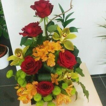 Магазин цветов Ветка сакуры Композиция из цветов № 46 - фото 1