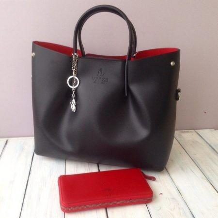 Магазин сумок Vezze Кожаная женская сумка С00153 - фото 1