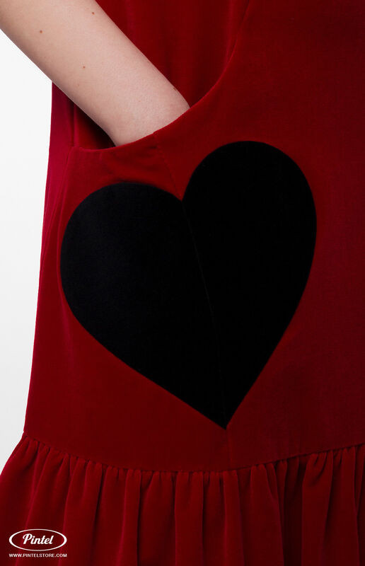 Костюм женский Pintel™ Костюм из блузы и бархатного сарафана Henriksuü - фото 6