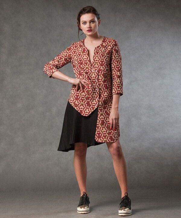 Платье женское MISUTERI Платье Reincoto Red MSS0021 - фото 1