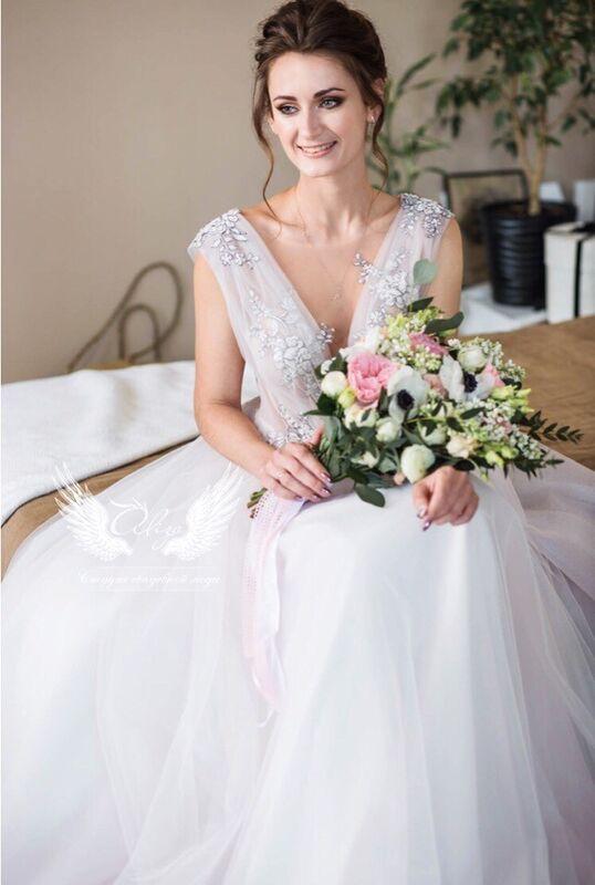 """Свадебное платье напрокат ALIZA свадебное платье """"Fiesta"""" - фото 3"""