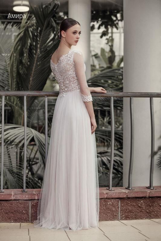 Свадебное платье напрокат Vintage Платье свадебное «Амира» - фото 2