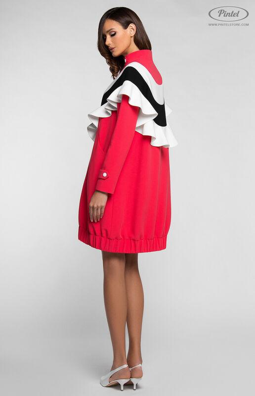 Платье женское Pintel™ Платье-свитшот в романтическом стиле FELISHA - фото 1