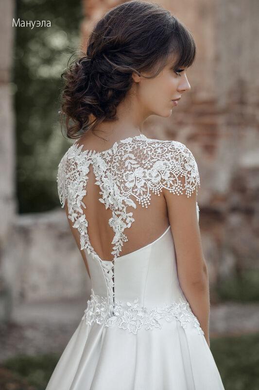 Свадебное платье напрокат Vintage Платье свадебное «Мануэла» - фото 4