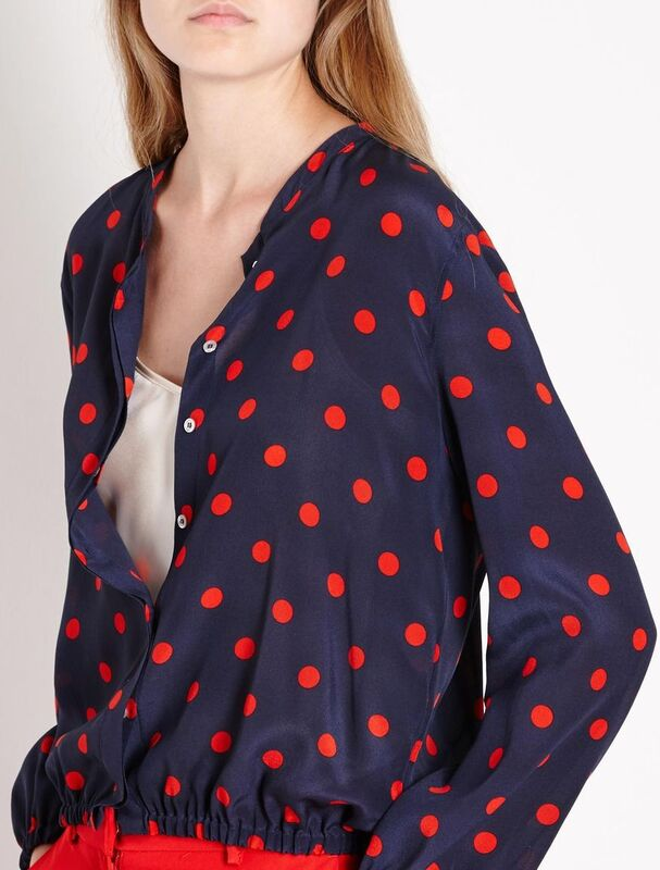 Кофта, блузка, футболка женская Marella Блузон Good 3191147102003 - фото 3